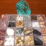 2. Kamienie dekoracyjne i szkło pochodzenia wulkanicznego